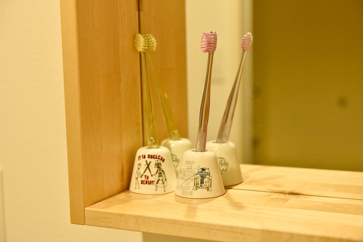スターウォーズの歯ブラシスタンド
