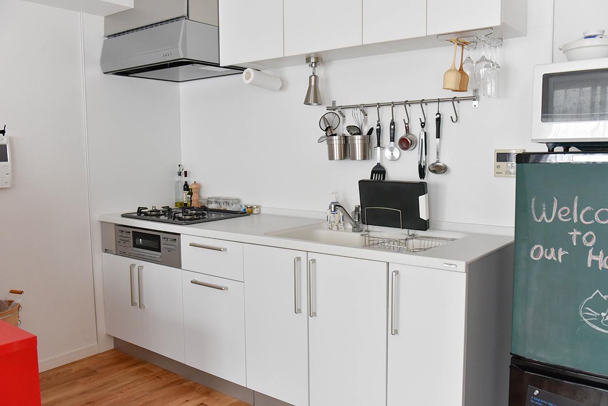goodroomの規格の、広々としたキッチン