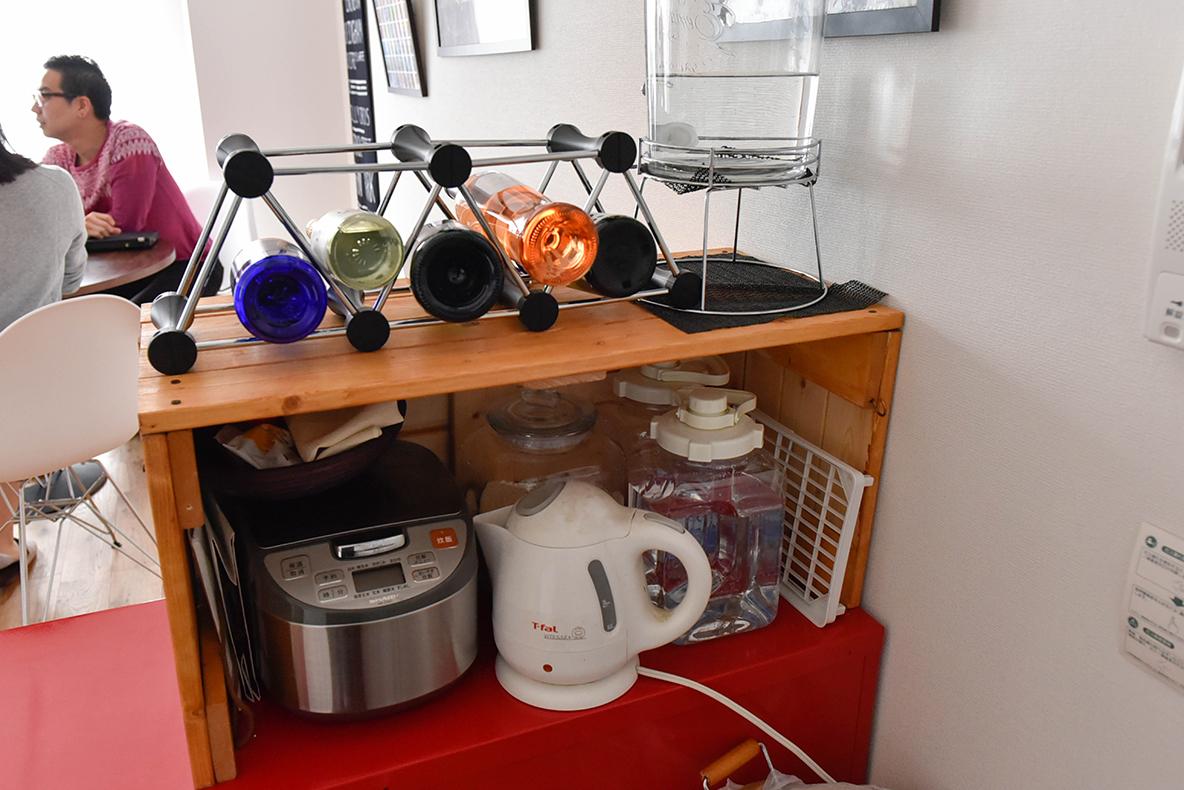 キッチンにDIYした収納