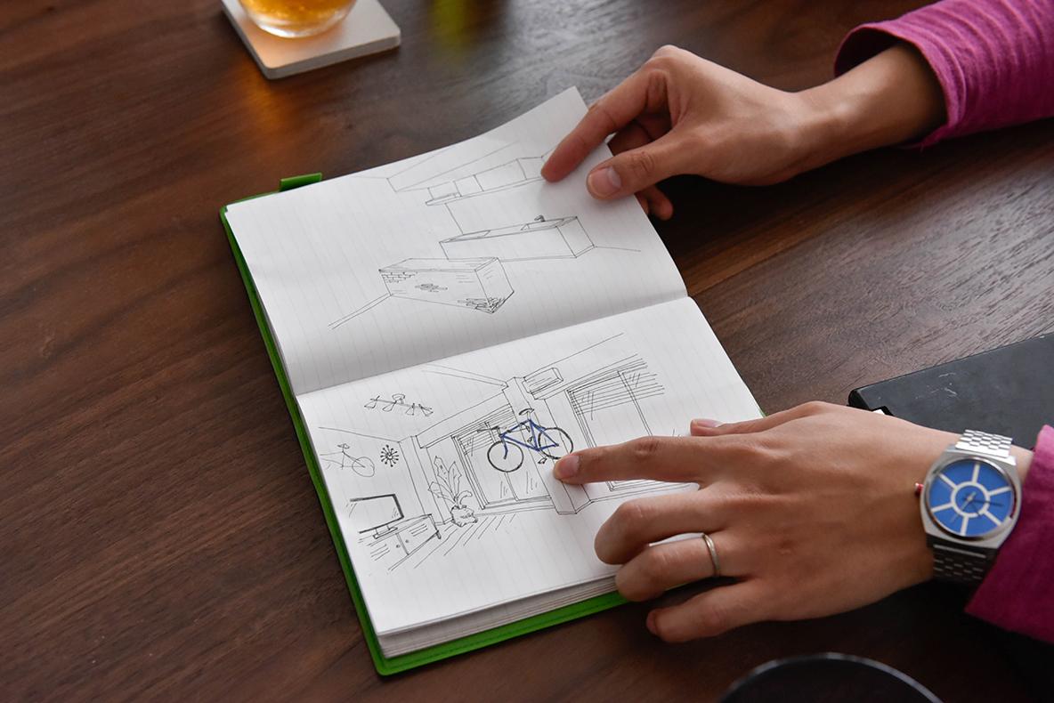 リノベーションは部屋の完成図を描くことが重要