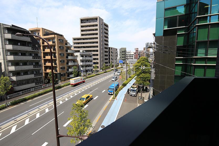 WISE OWL HOSTELS TOKYOからの眺め