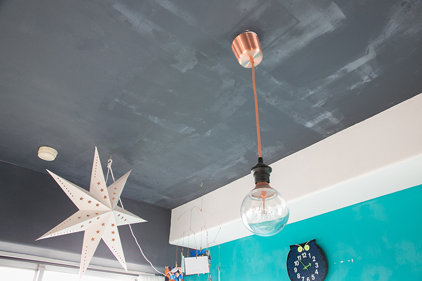 DIYで壁を塗装