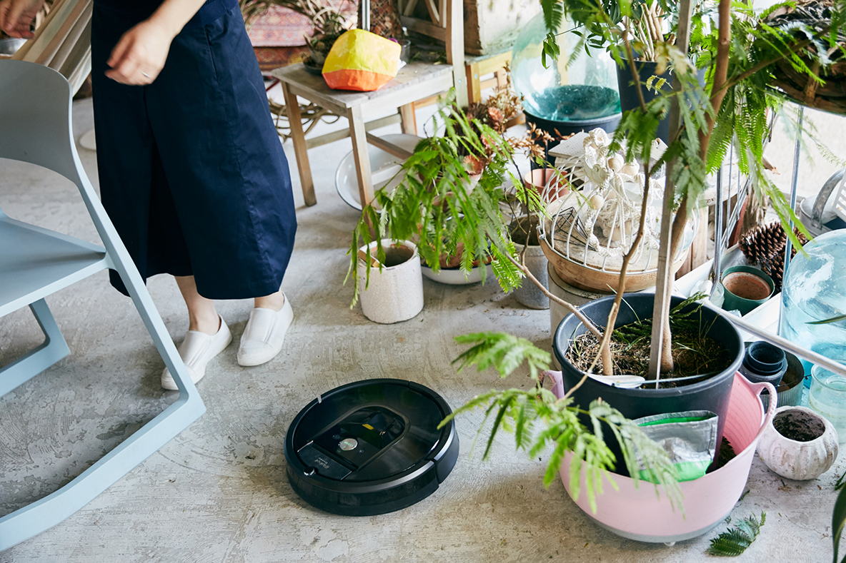 掃除ロボット、ルンバ