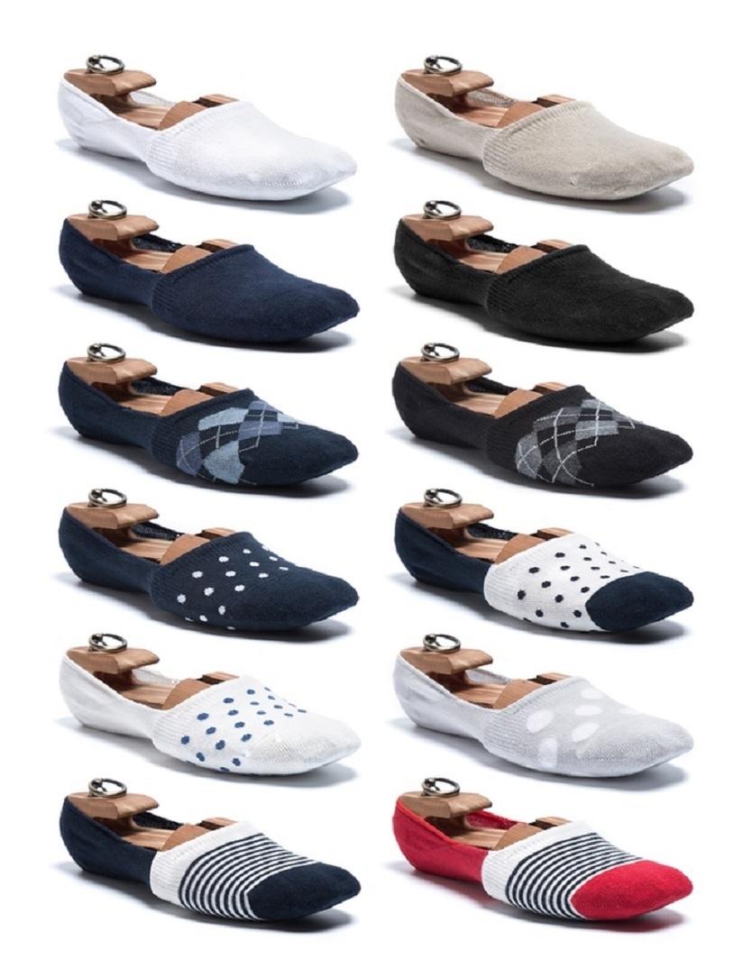 靴の中で脱げないように、試行錯誤し開発したくるぶしソックス