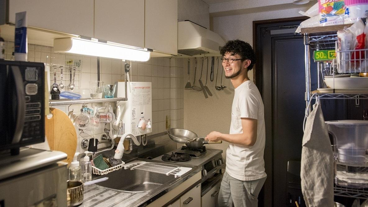 フードコーディネーターのキッチン収納アイディアが詰まった部屋(自由ヶ丘)