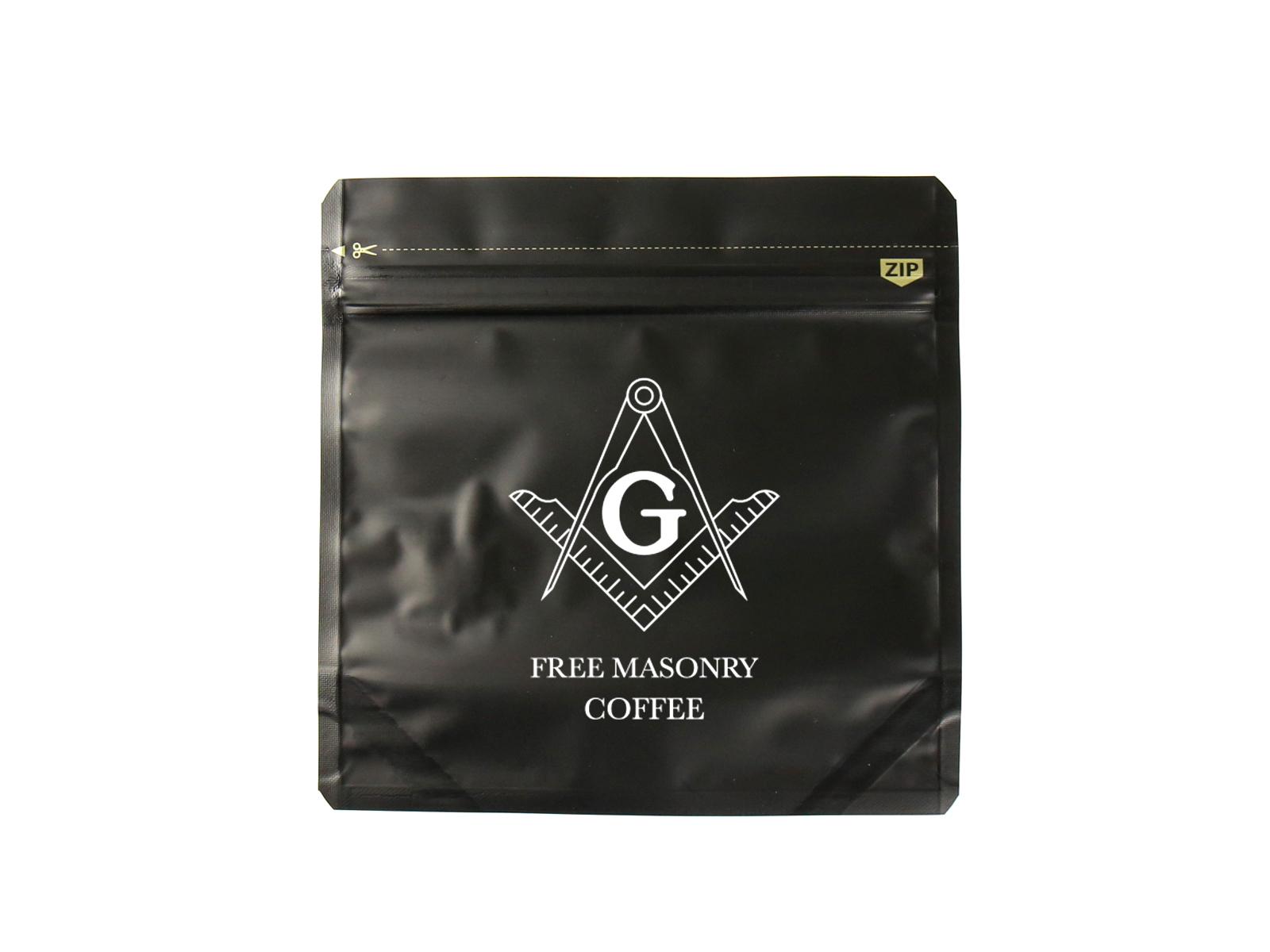 フリーメイソン日本支部の会員監修のコーヒー豆アイテム11種類も同時に販売される