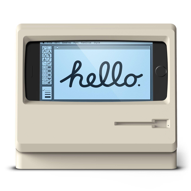 パソコンデザインを彷彿させるようなデザインの充電スタンド