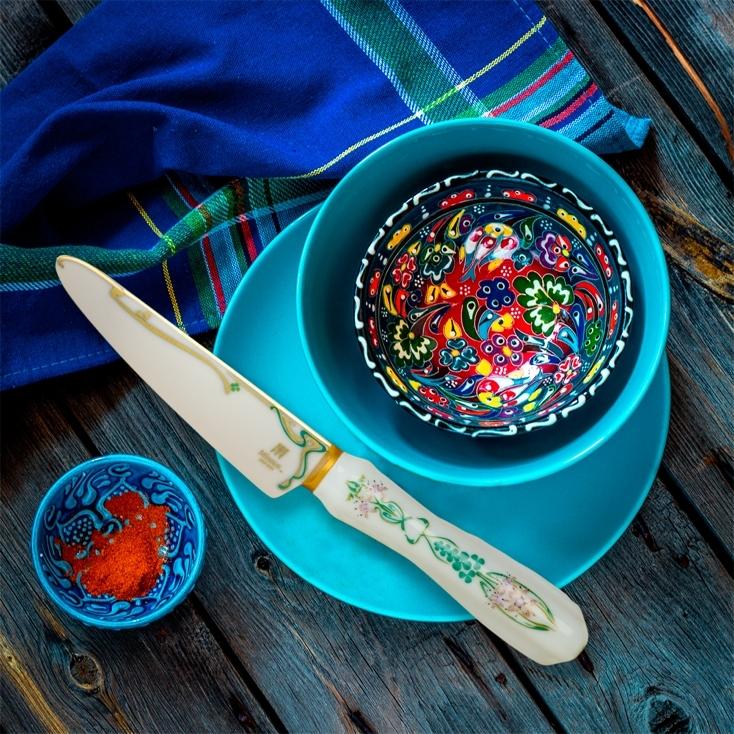 美しいMinova Ceramic Jewel Knives(ミノバ セラミック ジュエル ナイフ)