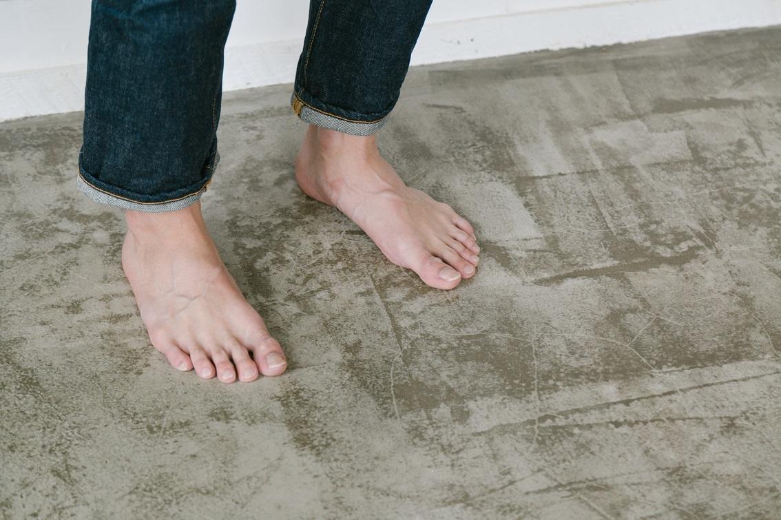 コンクリートのおしゃれな床