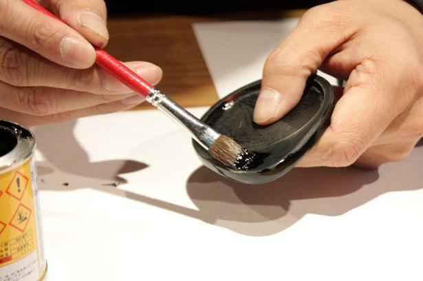 カシュー(合成樹脂塗料)を塗る