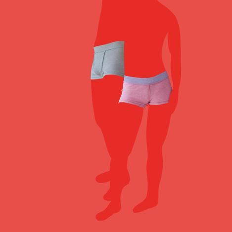 体を締めつけない「JUBAN DO ONI」の下着