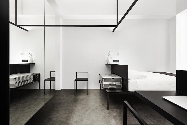 ホテルの部屋はシングルをはじめとし、ツイン、ダブル、ダブルプラス、スタジオ、そしてファミリーの全部で6種類