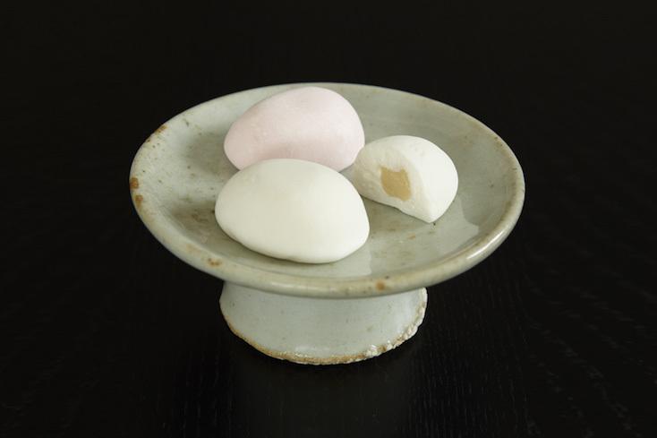 岡山県のマシュマロ和菓子、つるの玉子