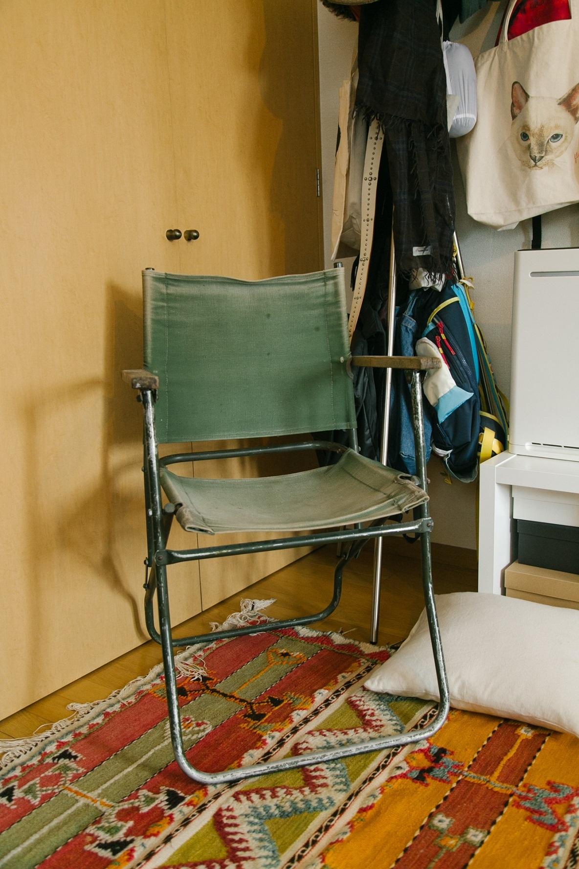 1930年代のドイツ軍の椅子