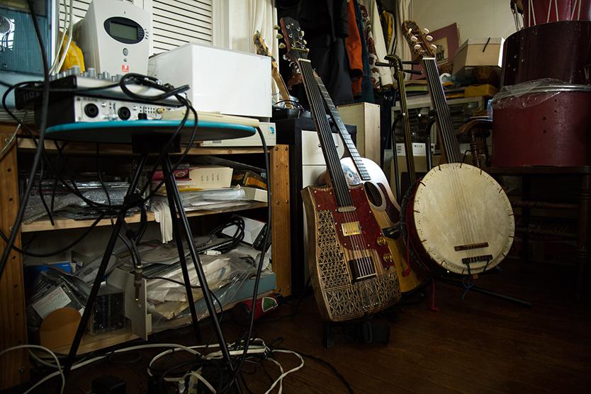 自作した楽器