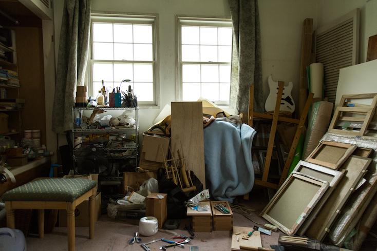 アーティストの部屋