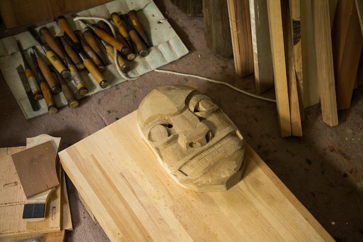 木工のアトリエスペース