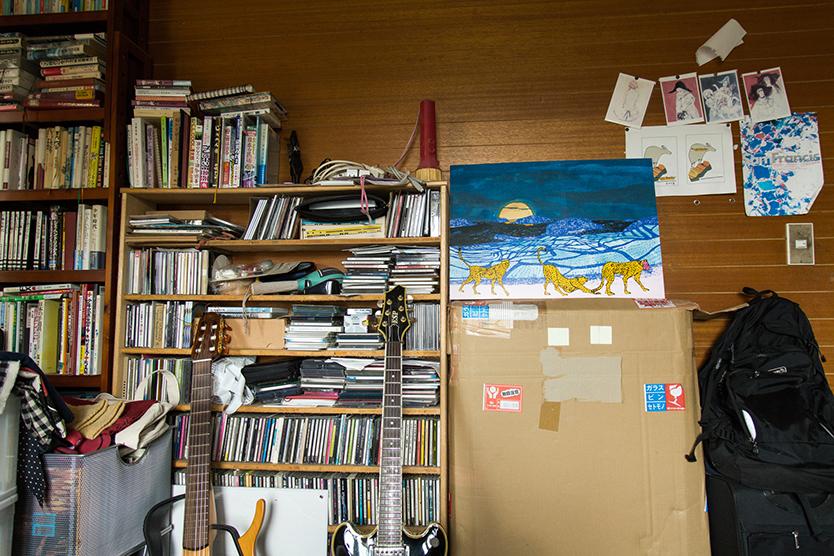 本棚とアート