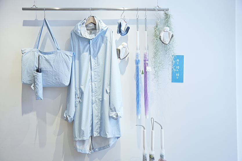 中川政七商店の「雨々 降レ、降レ」企画展