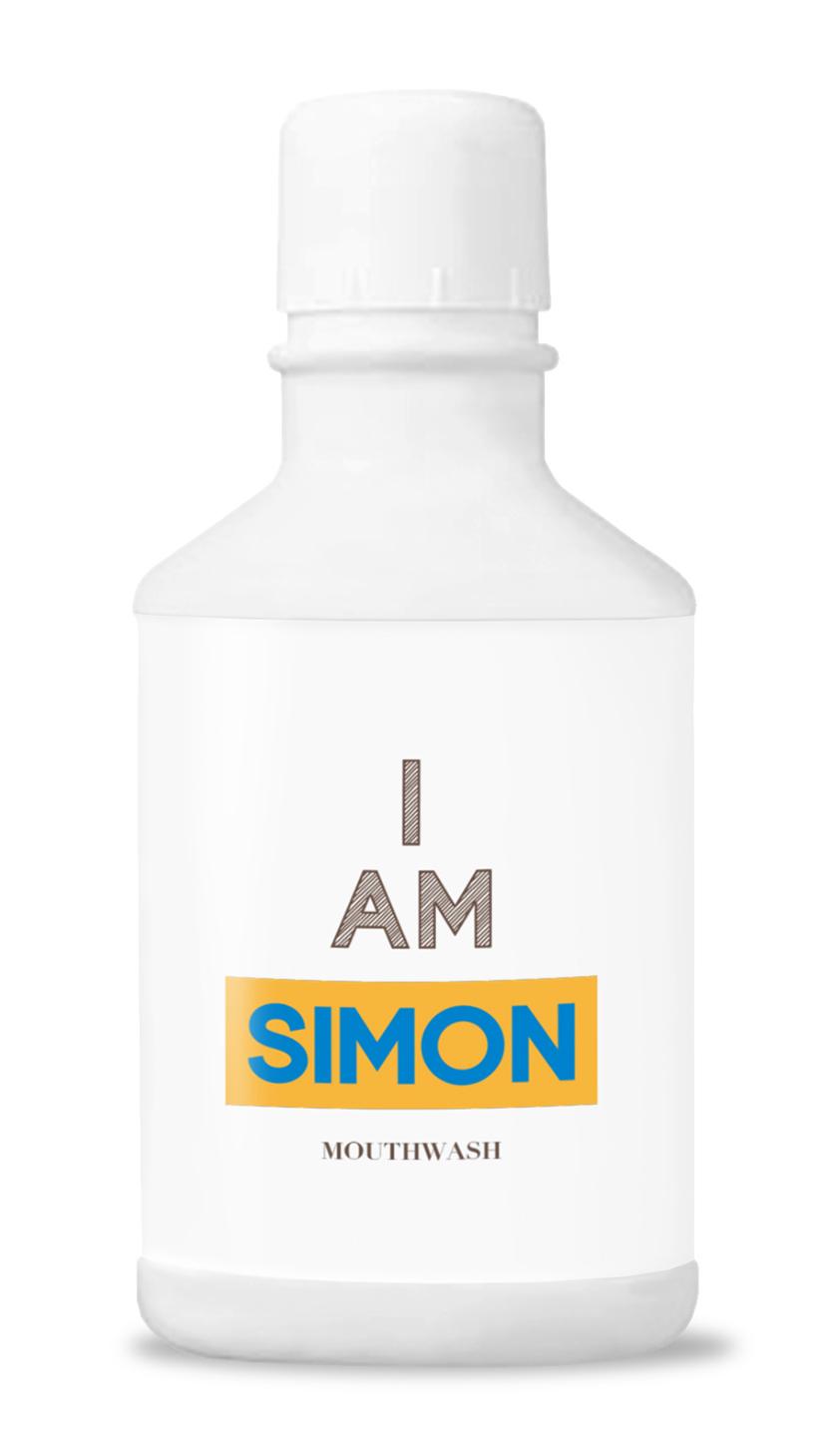 体にやさしい天然由来成分100%のマウスウォッシュ「SIMON」