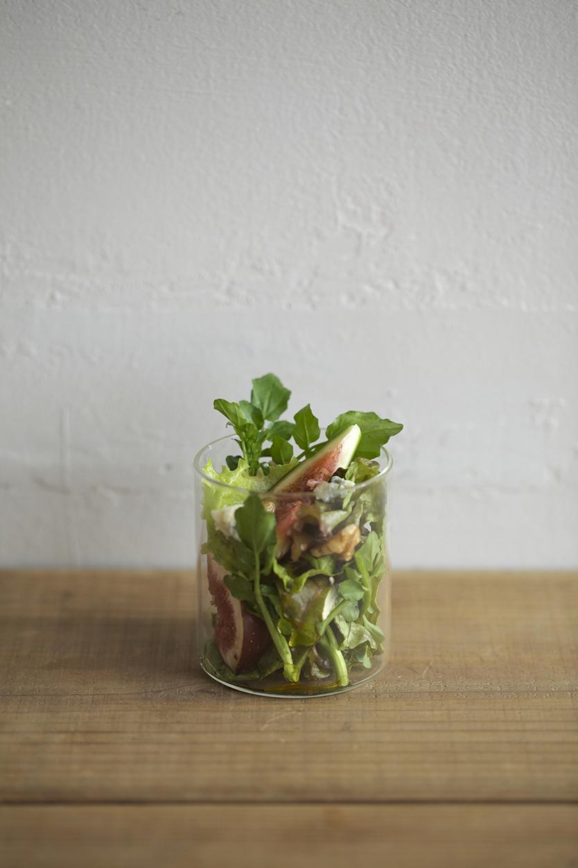 サラダも盛れるVISION GLASS
