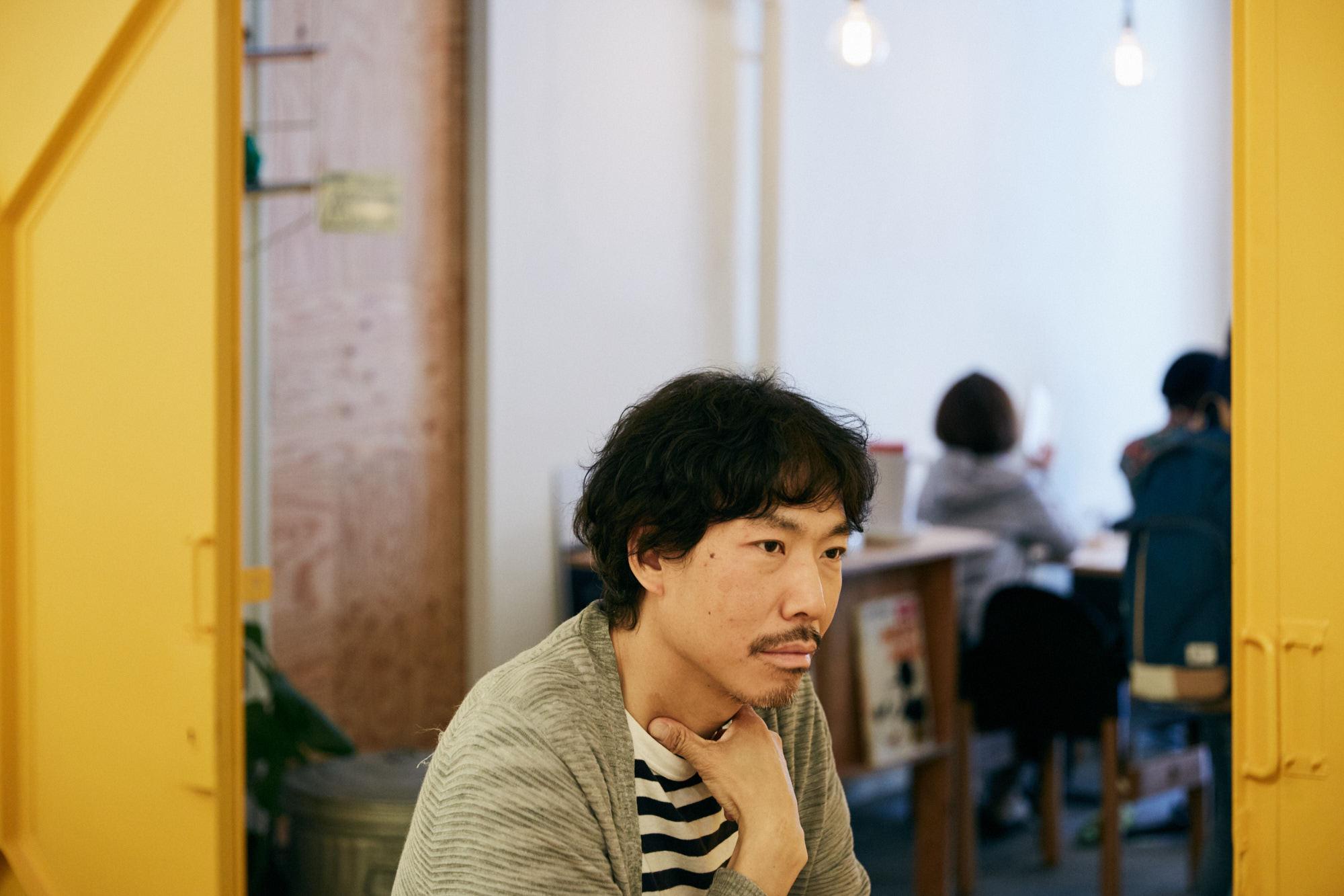 リドルデザインバンクの塚本太朗さん