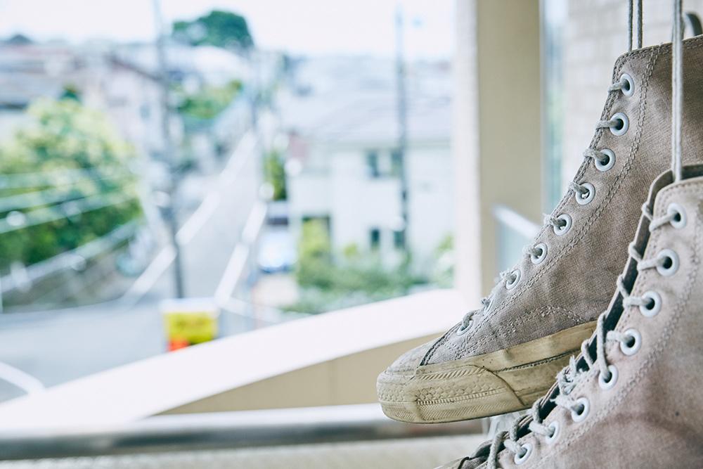 コンバースの靴