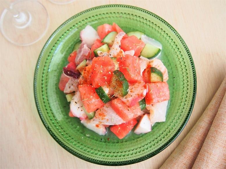 「セビーチェ」とはペルーやメキシコなどの南米で食べられている