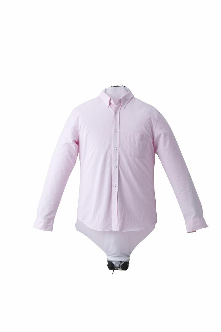 衣類乾燥カバーサイズは直径42cmで、シャツなら5~6着程度を乾燥することが可能なので、家で洗濯した服を一気に乾かせるのはもちろん、出張先で使ってもいいかもしれない