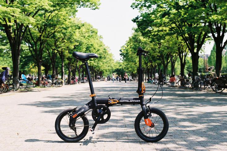 DOPPELGANGERの折りたたみ自転車「ハコベロ」