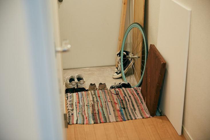 自転車好きの部屋