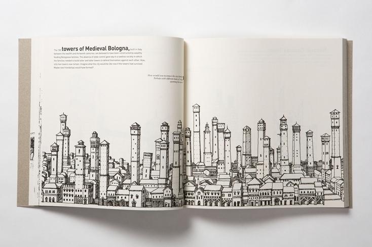都市計画やデザインで遊べるノート「ARCHIDOODLE CITY」