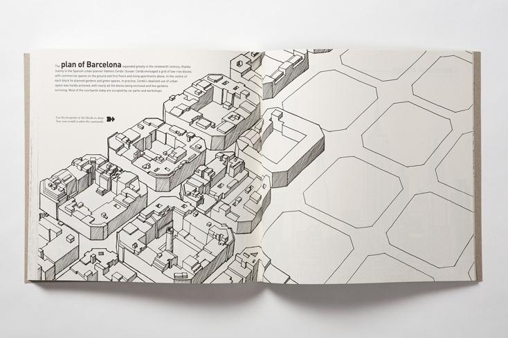 都市計画を楽しむノート「ARCHIDOODLE CITY」