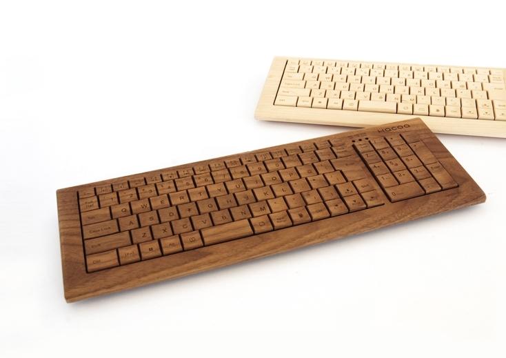 RENEW×大日本市鯖江博覧会の木のキーボード