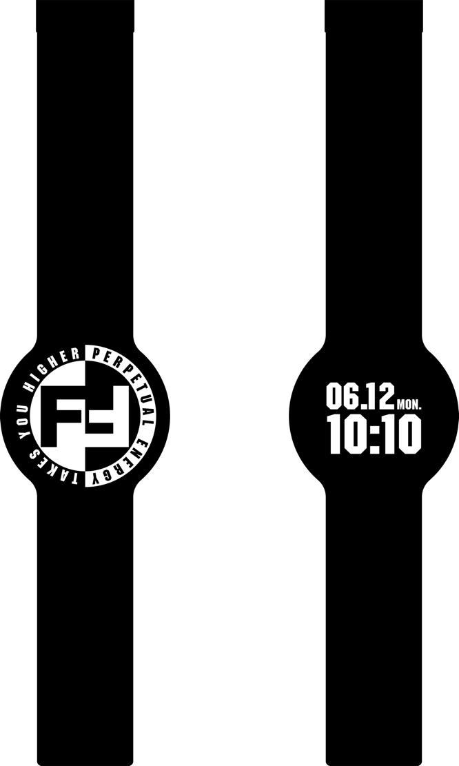 ファッションブランドFULL-BKデザイナー・DJ  DARUMA氏による腕時計