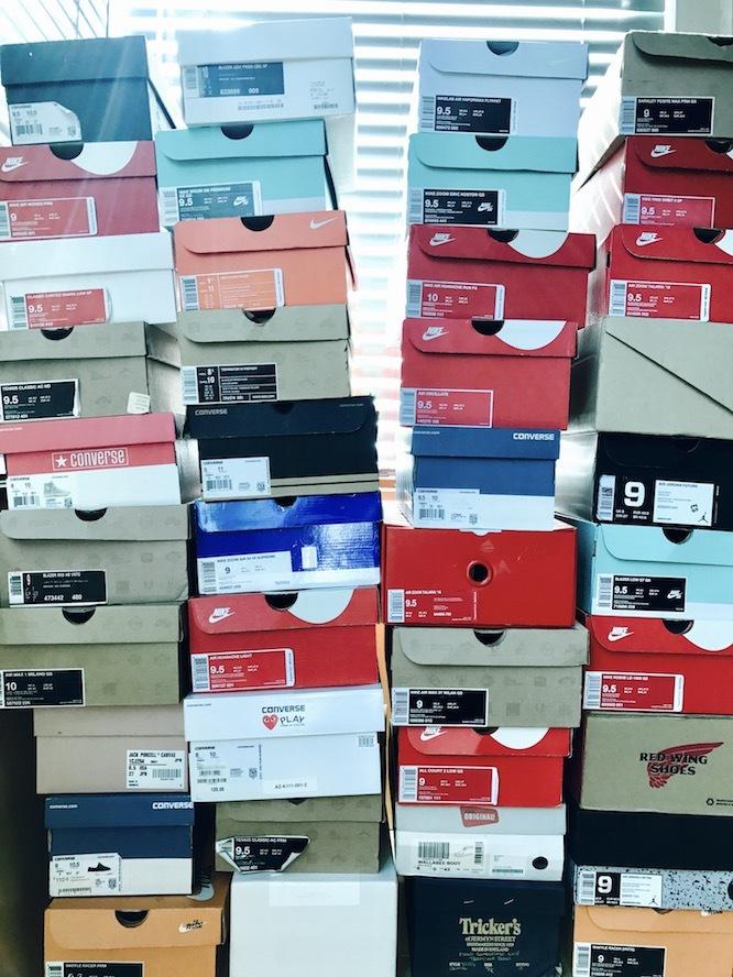NIKEの靴コレクション