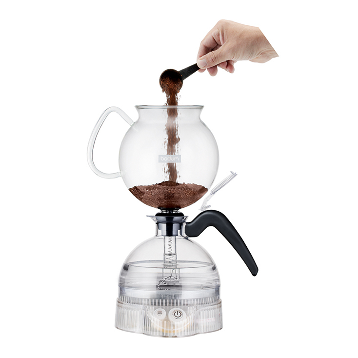 便利な電気式サイフォン式コーヒーメーカー