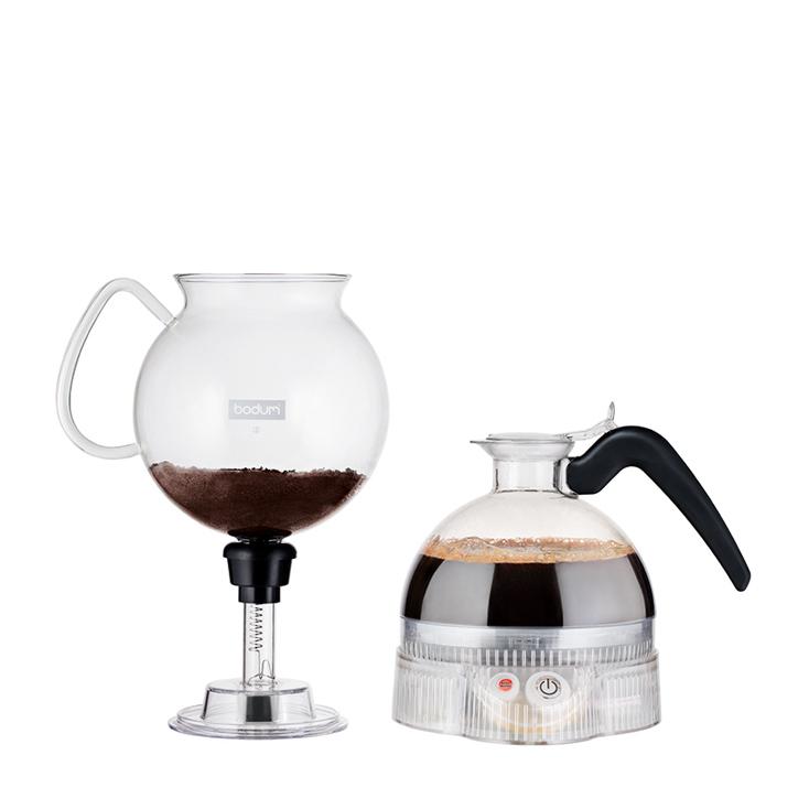 簡単に楽しめる電気式サイフォン式コーヒーメーカー