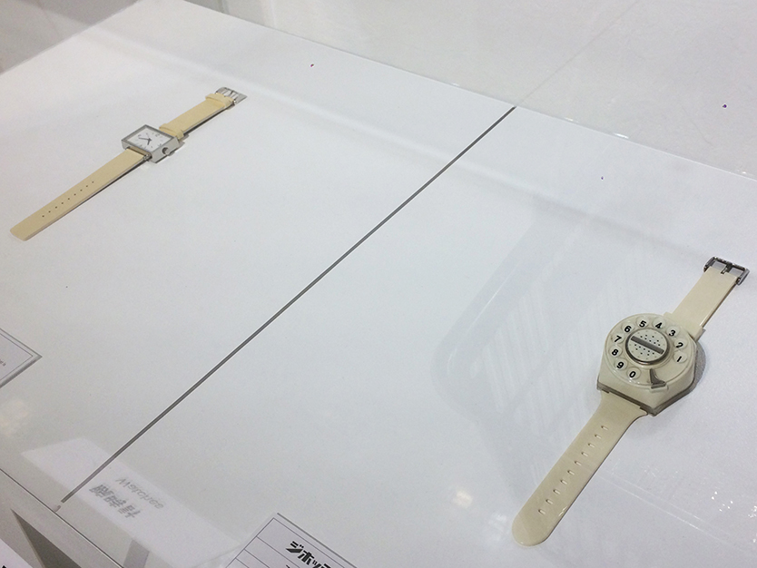 明和電機の腕時計