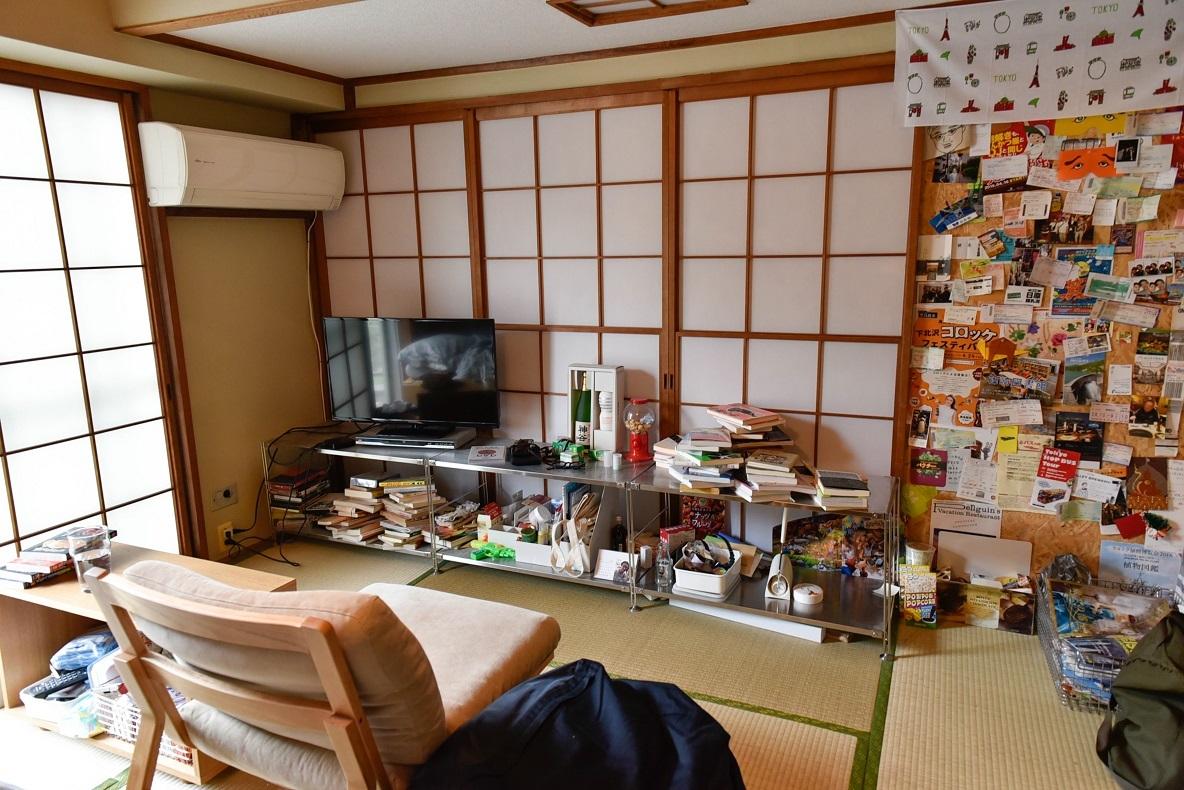 神谷さんの部屋