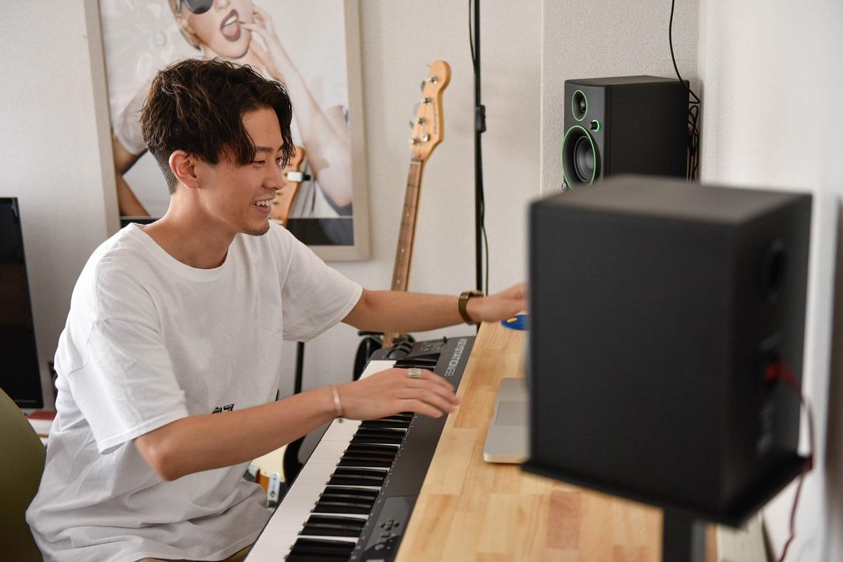 最近始めたキーボード(笠井さん)