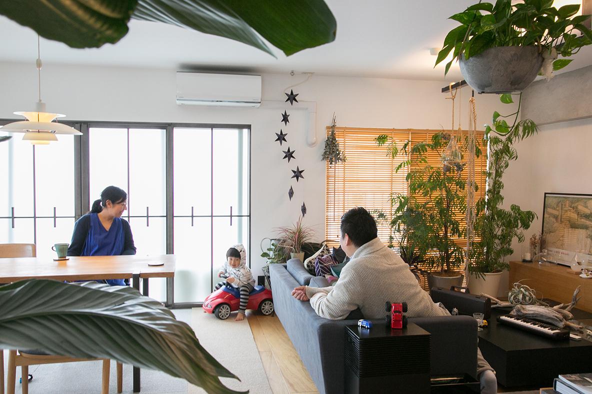 リノベ会社広報が「リノベらしくない自宅」をつくったら?(たまプラーザ)|リノベストーリー
