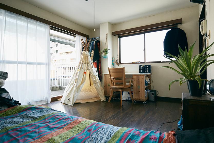 DIYでリノベーションした部屋