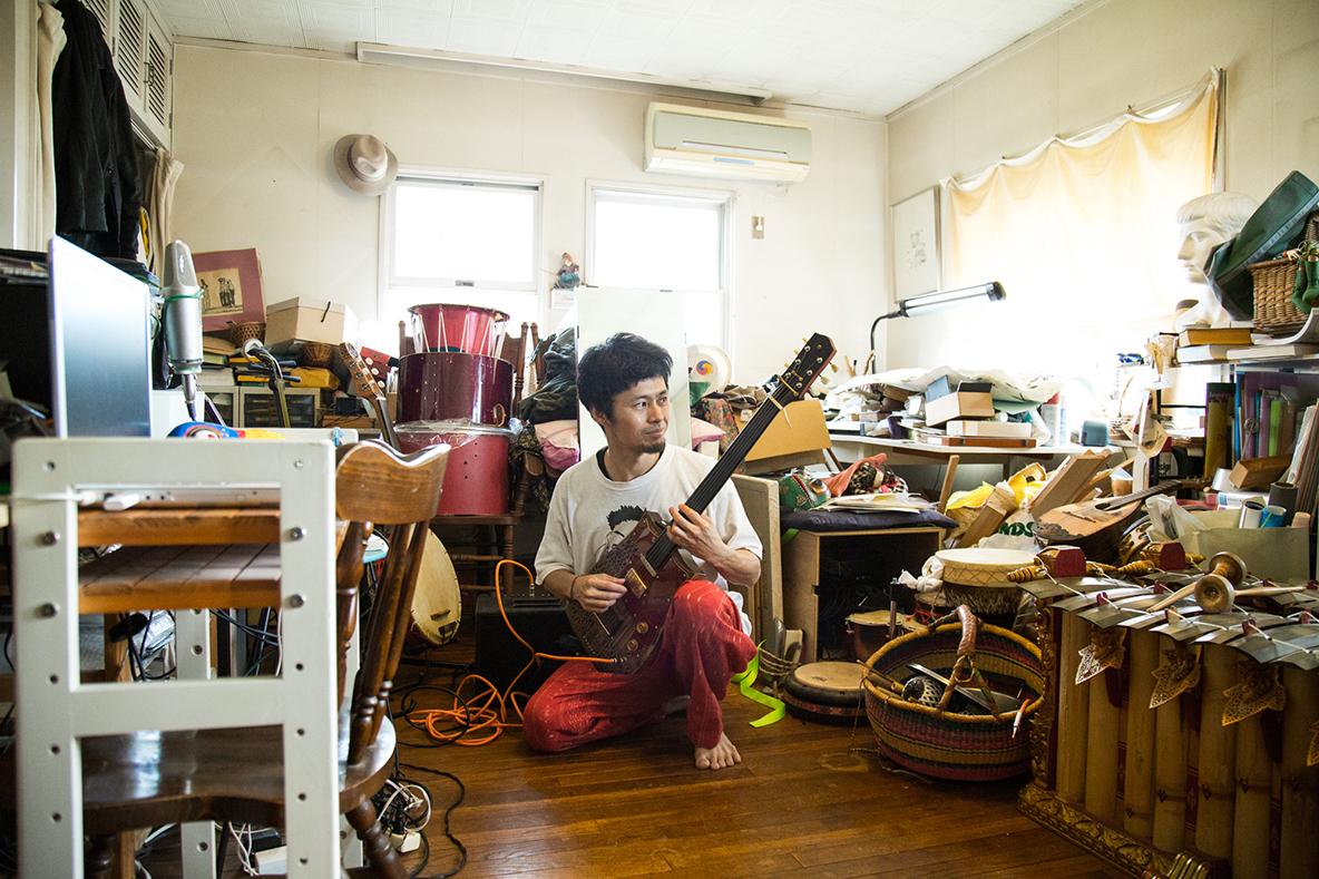 音楽とアートをつくり出す、実家兼ヒミツ基地(千葉県四街道市)|みんなの部屋