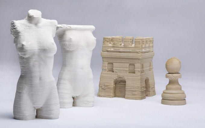 粘土素材ができる3DプリンターClayXYZ