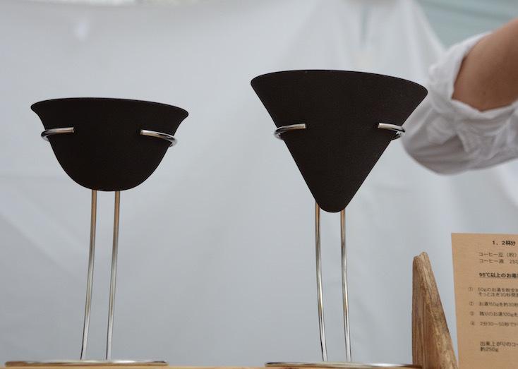 インテリアやコーヒー器具との親和性が高いデザインのフィルター