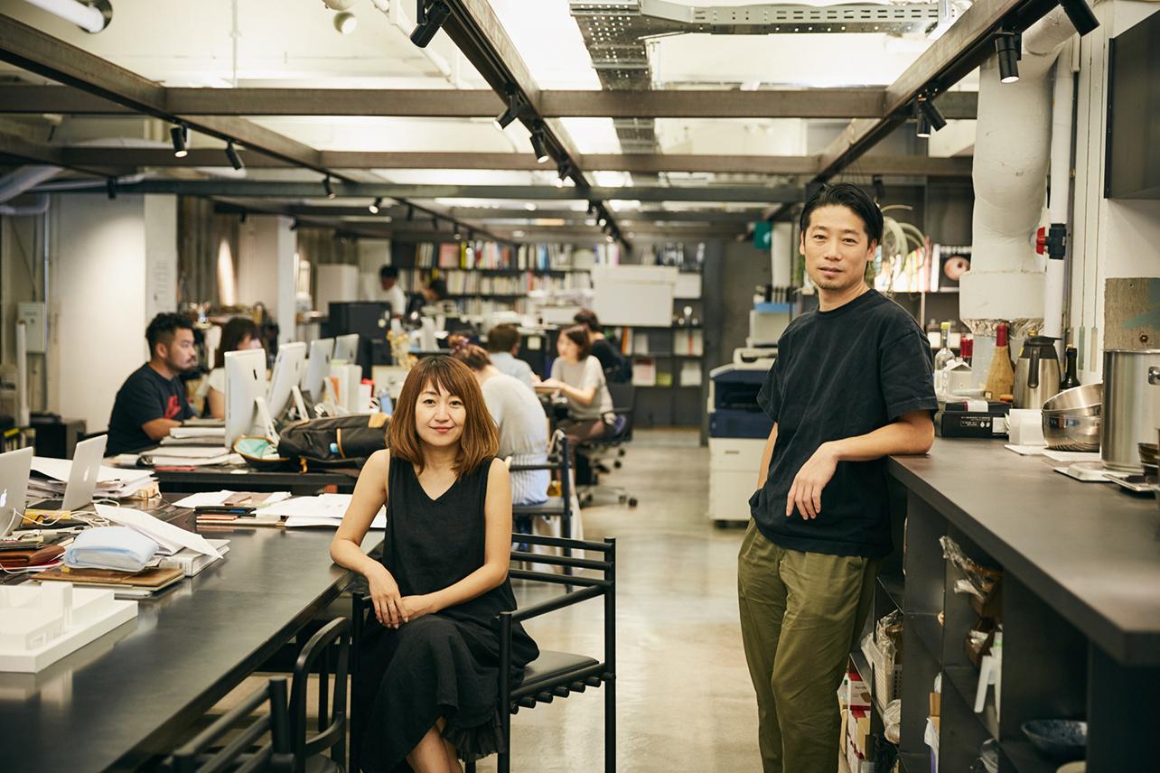 SUPPOSE DESIGN OFFICEの吉田愛さん、谷尻誠さん