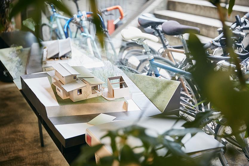 サポーズデザインオフィスの模型
