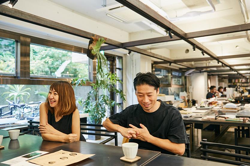サポーズデザインオフィスの谷尻さん、吉田さん