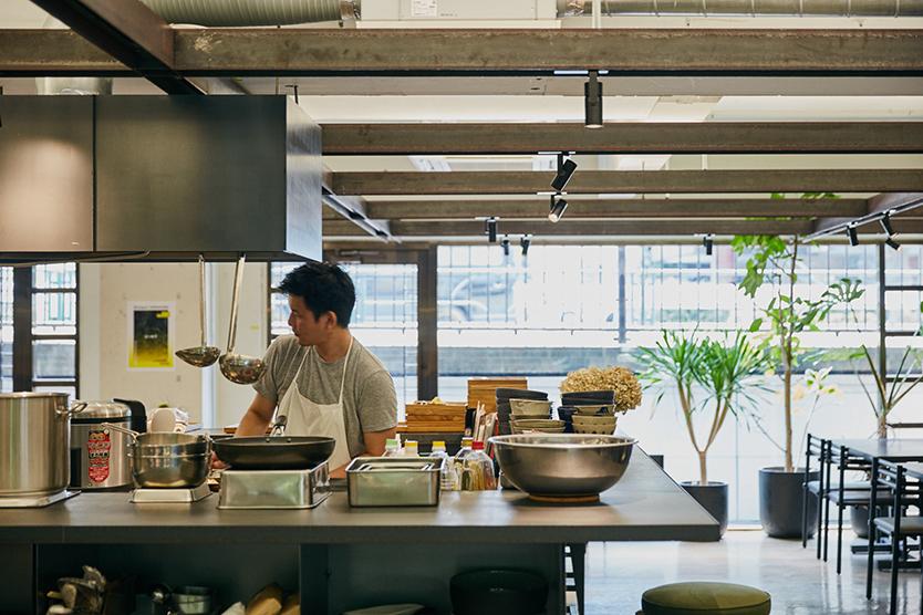 社食堂という代々木上原のカフェスペース